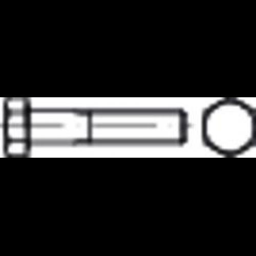 25 Feingewinde Sechskantschrauben DIN 960 8.8 M18x1,5x100